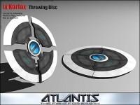 Throwing Disc der Atlanteaner!