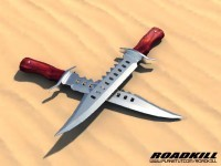RoadKill-Mod Dinosaur Hunter-Messer